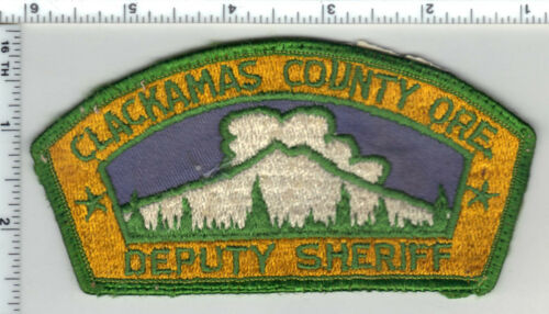 Clackamas County Sheriff (Oregon) 1st Issue Shoulder Patch