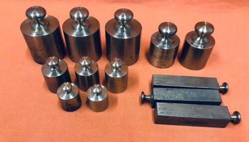 Vintage Brass Weight Set