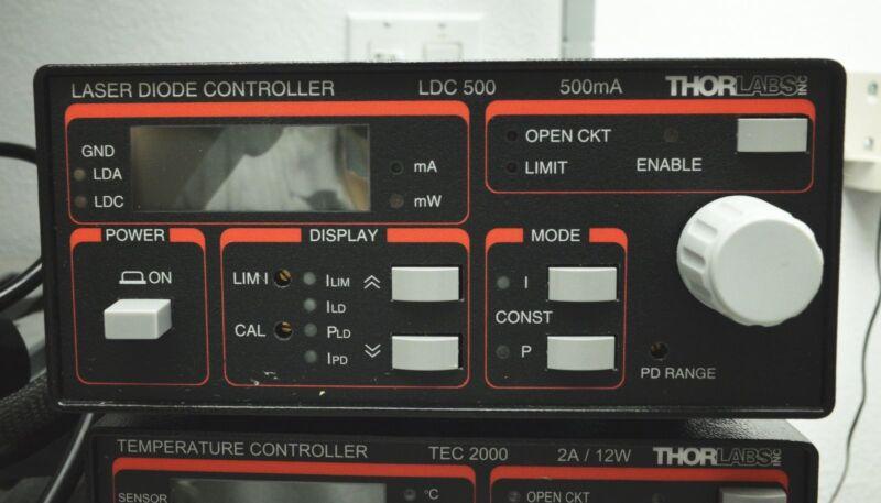 Thorlab LDC 500 Laser Diode Controller