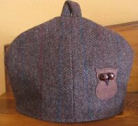 Upcycled Harris Tweed Owl Tea Cosie