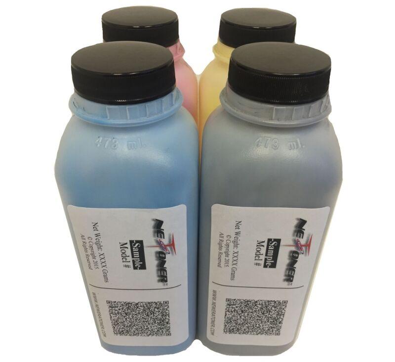 4 Color Toner Refill for Brother MFC-9440CN 9450DN 9840 (TN-110 TN-115) + 4 Caps