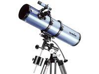 Skywatcher Reflecting Telescope - Model SK1309EQ2 with Motorised Clock Drive