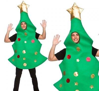 Weihnachtsbaum Kostüm Herren Weihnachten Neuheit Kostüm Outfit - Weihnachtsbaum Outfit