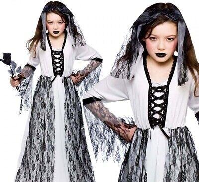 Grausige Geist Zombie Corpse Bride Spirit Mädchen Halloween - Grausige Kostüm