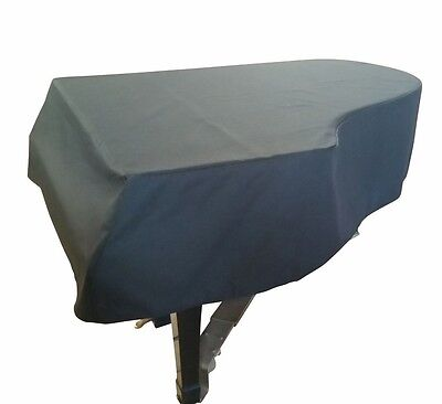 """Black Mackintosh Grand Piano Cover - For Baby Grand Pianos between 4'11"""" - 5'0"""" for sale  Shipping to India"""