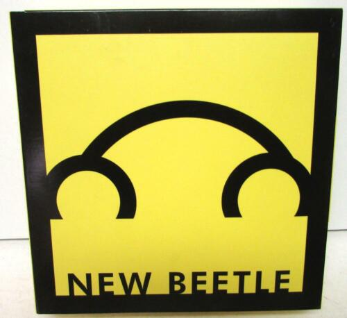 1998 NEW VW BEETLE DETROIT AUTO SHOW PRESS RELEASE BOX