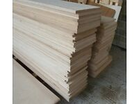 6 Pieces of NEW 18mm B/BB Grade Russian Birch Plywood 8ft x 6.5in (2440mm x 160mm)