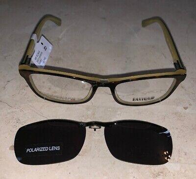 EASYCLIP Womens EYEGLASS SUNGLASS PRESCRIPTION GRADE FRAME POLARIZED TK 948 (Polarized Prescription Eyeglasses)