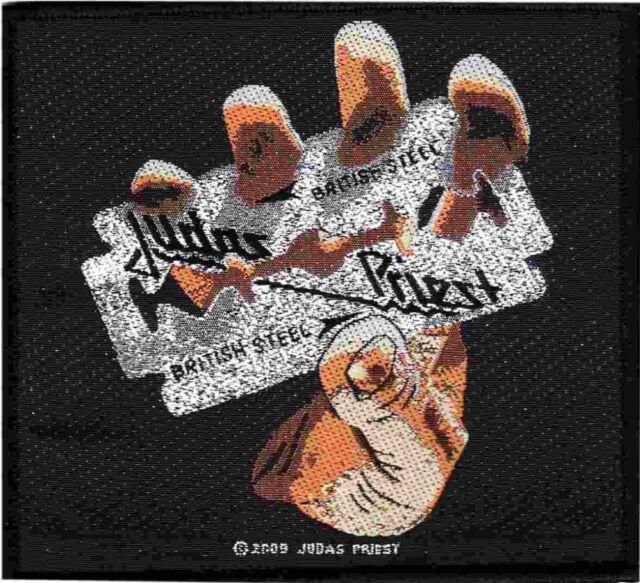 Judas Priest - British Steel Patch 10cm x 9.5cm