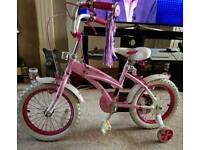 Girls bike 14