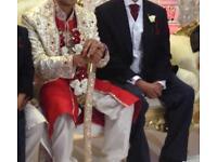 Men's wedding shirvani