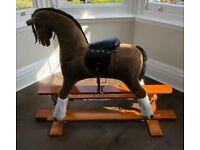 Beautiful rocking horse.