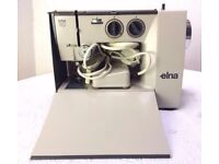Vintage Elna Lotus sp electric sewing machine Zig Zag with Foot control