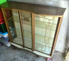 Retro Old display cabinet furniture