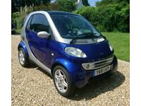 Absolutely immaculate Smart Car For Two Passion - just 38000 miles.