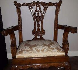 "For Sale - Unique Antique Miniature ""set of furniture"" also ""Annie Sloan paint and wax"""