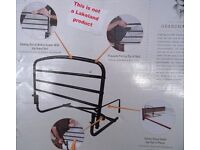 Safety Bed Rail which can pivot out of the way - 30 inches long