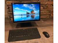 """All In One Acer PC with Intel Core i5, SSD Drive, Windows10, AntiVirus, 20"""" Screen, Keyboard - Mouse"""