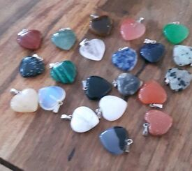 Reiki charged gemstone necklaces