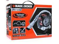 Car dustbuster black & decker