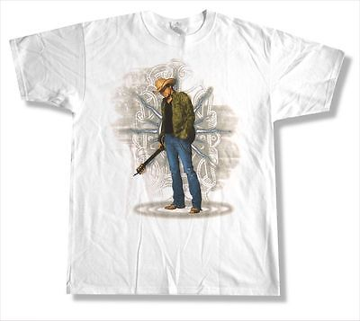 Jason Aldean Ripped Jeans Pic Image 2010 Tour White T Shirt New Official