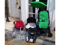 Mamas and Papas Glide Travel System with Isofix base