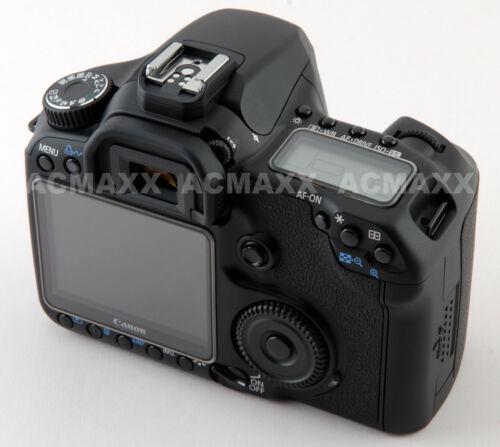 """ACMAXX 3.0"""" HARD LCD SCREEN ARMOR PROTECTOR CANON EOS 50D EF BODY"""
