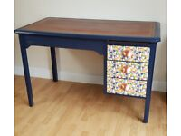 Large Hand Painted Desk