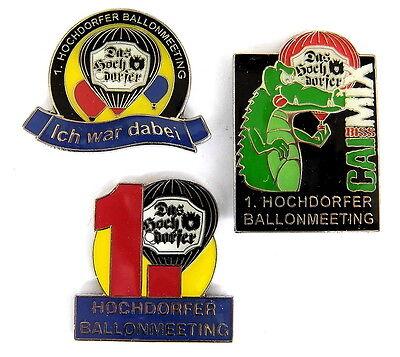 BIERBALLON Pin / Pins - HOCHDORFER KRONENBRAUEREI - NAGOLD / 2 PINS!!!!! [3130