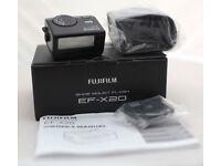 Fuji film Shoe Mount Flash EF X20. Boxed. Perfect for X100.