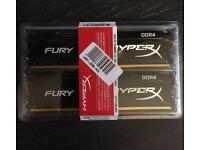 HyperX Fury 32gb set