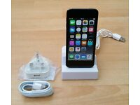 ipod Touch, Latest 6th Gen, 16GB, Space Grey, 100% Working, New Charger & Docking Station
