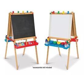 Melissa & Doug Chalk board & easel