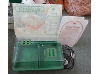 Sankey GroWarm Heated Propagator, 12 watt with trays, Original Manual - in very good condition.