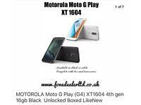 Motorola Moto G Play (G4) XT 1604 4th gen