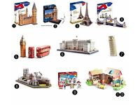 BRAND NEW Cubic Fun 3D Puzzles! Great Xmas Presents! Various Models! Prices In Description