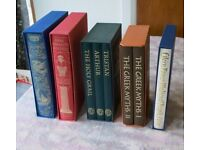 Folio Society 5 Book set Joblot