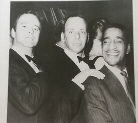 Rat Pack Picture Black & White