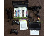 Xbox 360 Console, Kinect, Games and Accessories