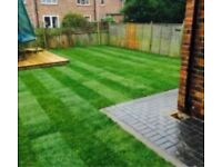 driveway patios turfing Decking fencing gardening services landscapeing Indian stone artificial