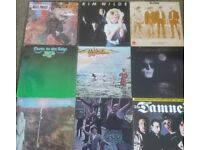 Fantastic Vinyl Record Collection. SOME RARE LP's 12' 10' 7' singles & 25 LP's Signed