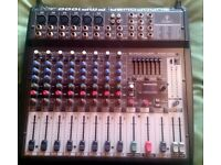 behringer pmp 1000 mixer/amp
