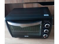 Mini oven for baking, roasting, toasting, grilling, etc.