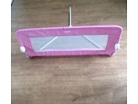 Tomy pink bed guard