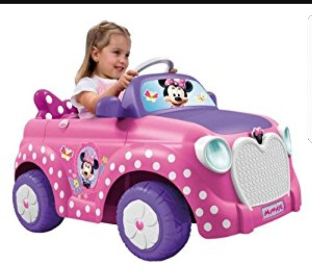 Minnie Mouse ride on Car