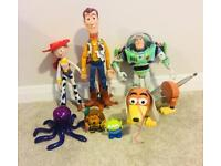 7 x Toy Story Figures