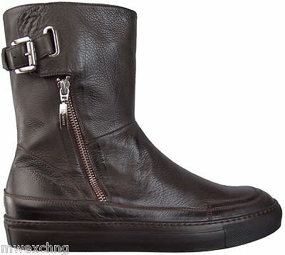 $750.00 CESARE PACIOTTI FASHION LEATHER BOOTS US 8 ITALIAN DESIGNER MENS SHOES