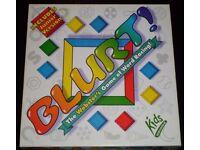'Blurt!' Board Game (includes junior version)