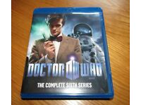 Doctor Who the complete sixth series on blu ray