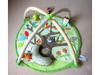 Skip Hop Treetop Friends Baby Activity Gym - Tummy Time Pillow - Multi Sensory
